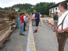 25 Jahre SV Elz 2003 25 Meter lange Eierspeise