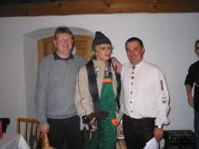 Sparvereinsauszahlung 2002 - neuer Obmann