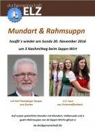 Mundart & Rahmsuppn 2016