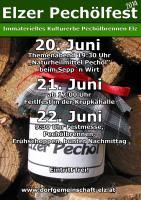 Flyer Elzer Pechölfest 2014
